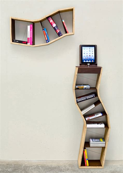 unique book shelves 20 creative bookshelves modern and modular