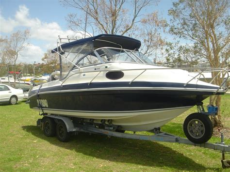 cabin boats for sale qld haines signature 600c half cabin trailer boats boats