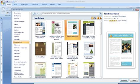 Kindergarten It Program Welcome How To Create A Newsletter Template In Photoshop