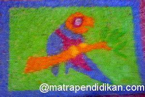 teknik kolase dari as kelapa viva membuat kolase burung dari ampas kelapa matra pendidikan