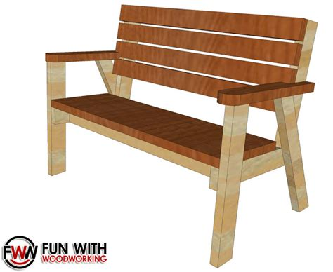 park bench plans full plans for the park bench with a reclined seat are now