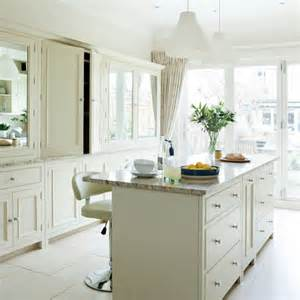 amazing Traditional White Kitchens #1: Off-White-Country-Kitchen-Ideal-Home-Housetohome.jpg