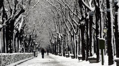 fotos invierno madrid el parque de el retiro nevado archivo qu 233 es