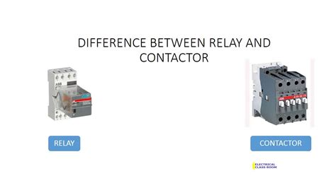 how to wire contactors and relays pictures