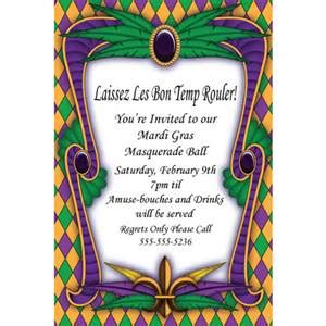 mardi gras invitation templates invitation template