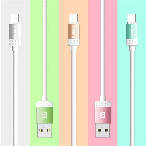Kabel Data Remax Lovely Micro Usb Cable For Smartphone Gray remax lovely series micro usb cable charging data sync for
