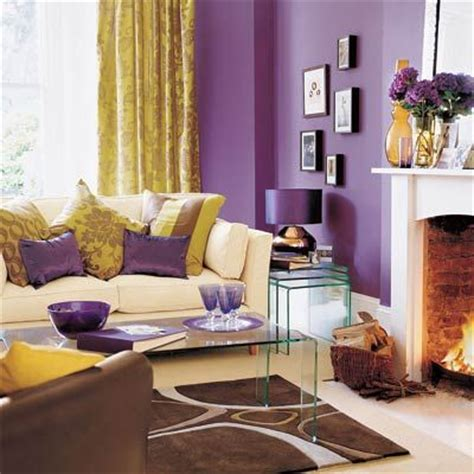 purple and brown living room does purple and brown match home design