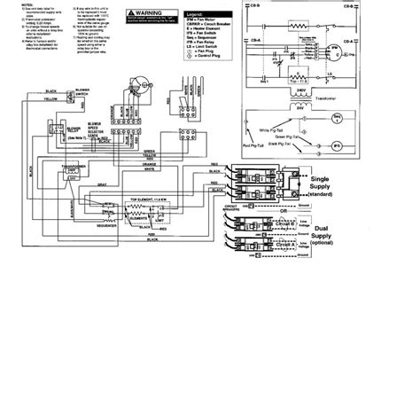 intertherm electric furnace wiring diagram heat