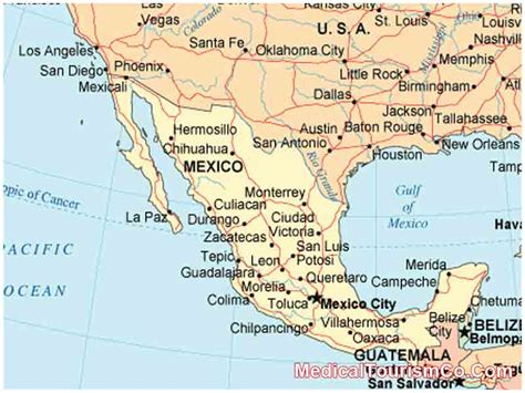 and mexico border map smile makeover in mexico dental makeover prices med