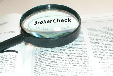 Finra Background Check Requirements Brokercheck Brokers Required To Link To Free Background Check Site