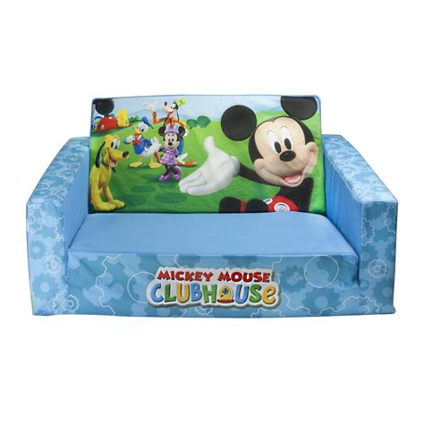mickey mouse kids couch flip open sofas for kids wonderful gifts for wonderful