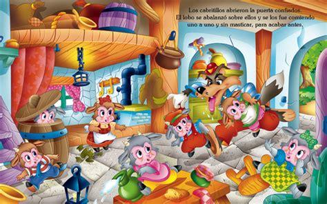 libro los siete cabritillos y javier inaraja iiustraciones libros personajes cuentos pop up y otros