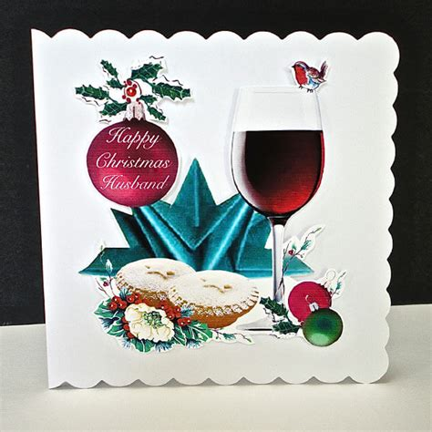 Handmade Cards For Husband - cheers handmade card husband decorque cards