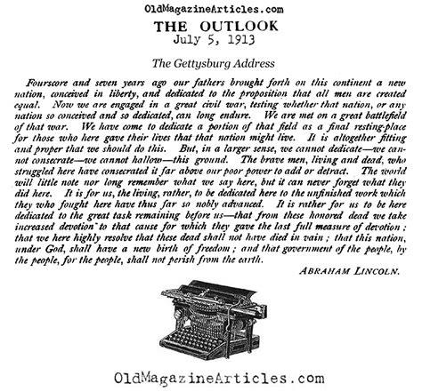 abraham lincoln quotes pdf abraham lincoln s gettysburg address pdf search