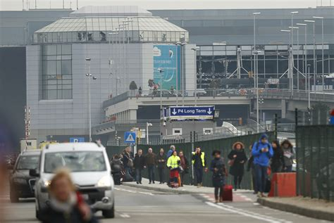 brussels airport brussels attacks airports in germany and u k