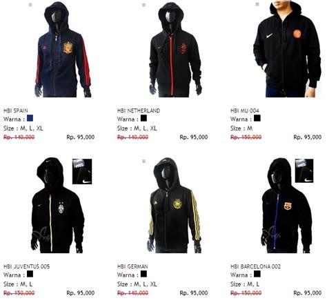 Jaket Parasut Nike Bolak Balik terjual jaket hoody bola klub negara parasut