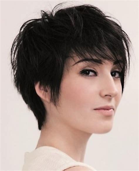 choppy short hairstyles