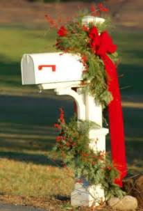 christmas mailbox decoration tis the season pinterest