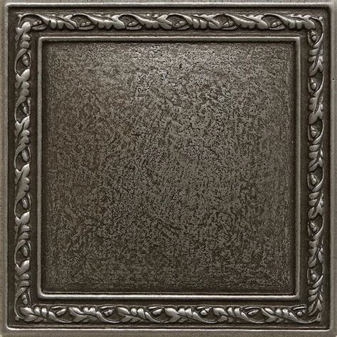 Decorative Metal by 4 X 4 Olive Branches Decorative Metal Insert Pewter