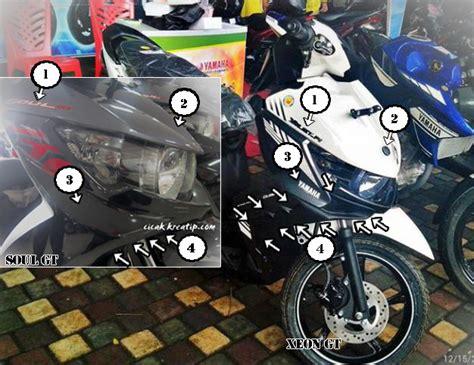 Sparepart Yamaha Xeon Gt 125 yamaha xeon gt 125 bedanya apa sih xeon gt dengan soul