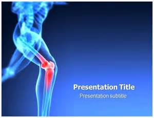 Orthopedic Templating Software by Knee Orthopedic Surgery Powerpoint Ppt Templates