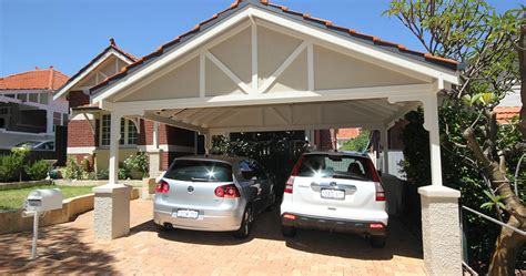 What Is A Car Port by Carports Kits Designs Timber Patio Living