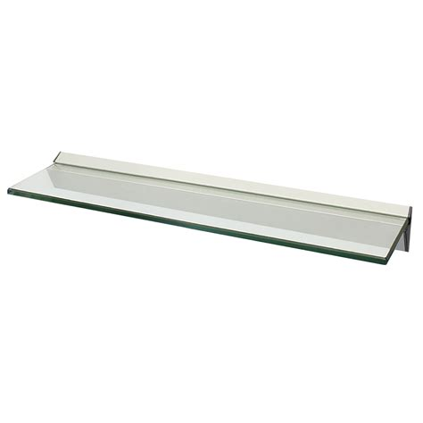 Narrow Floating Wall Shelf by Narrow Floating Glass Wall Shelf Bathroom Kitchen Lounge