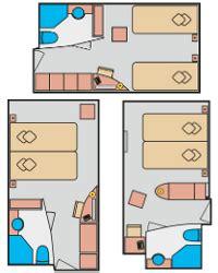 aida suite leistungen kabinen auf aidaluna schiffskabinen aida kreuzfahrten