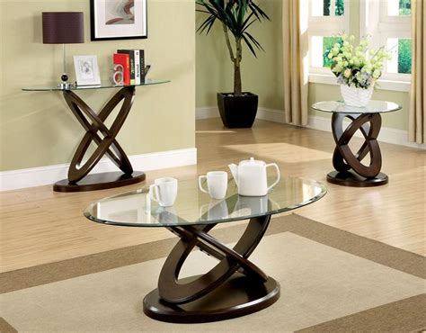 Oval Coffee Table Sets Black Oval Glass Coffee Table All Home Ideas Awesome