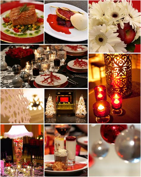 party themes holiday holiday party decor ideas vibrant table catering events
