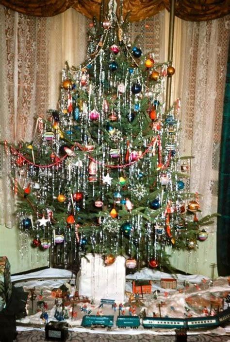 vintage christmas tree decorations uk