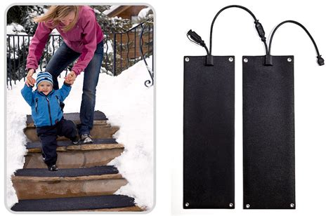 10 x 30 heated stair mats heated door mat melt snow fast chainsaw journal