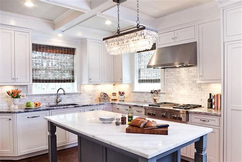kitchen island chandeliers clarissa drop rectangular chandelier