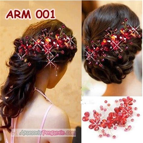 Aksesoris Rambut Sanggul Fashion Mata Crown Jepit jual aksesoris sanggul pesta merah l hiasan rambut