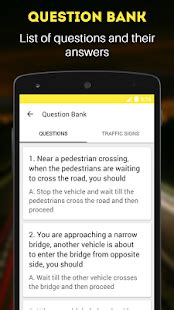 quiz questions kannada rto exam driving licence test android apps on google play