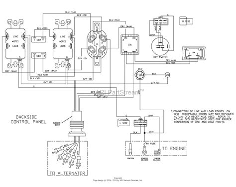 denyo generator wiring diagram ac generator wiring diagram