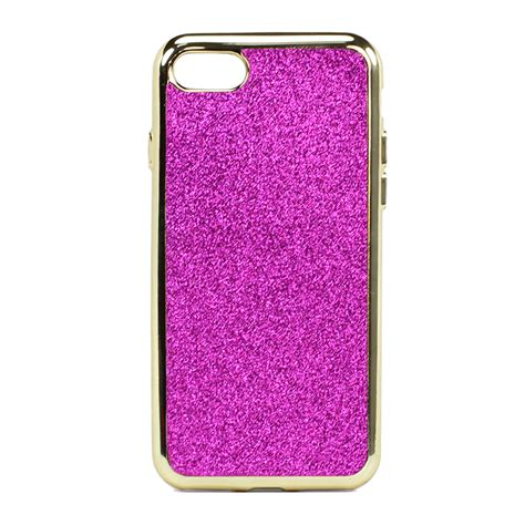 Ultrathin Chrome For Iphone 7plus Free Glitter wholesale iphone 7 glitter sparkly golden chrome pink
