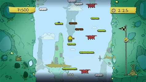 doodle jump blizzard achievement more doodle jump for kinect screens released