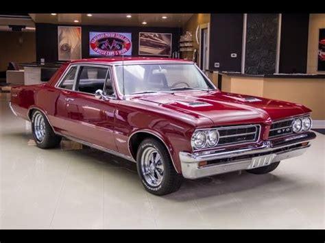 Pontiac Gto 1964 For Sale by 1964 Pontiac Gto For Sale