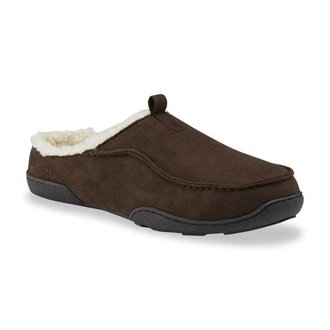 mens slippers kmart fleece mens shoes kmart