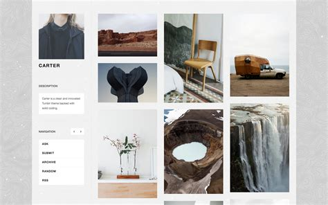 tumblr themes free gallery carter remarkably tidy sidebar theme zen themes