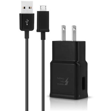 micro usb charger 2 for verizon kyocera phones adaptive fast home car