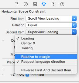 disable auto layout during animation uiscrollview and auto layout corsarus