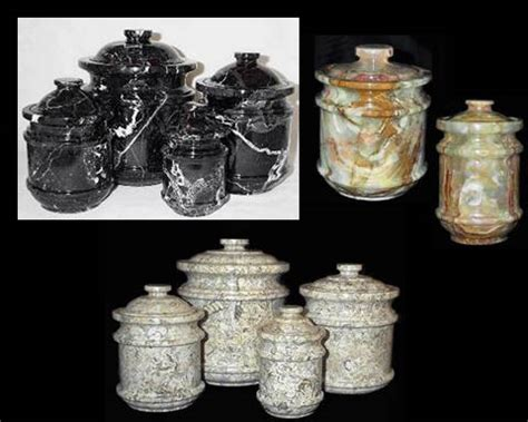 unique kitchen canister sets decorative marble canisters jars onyx kitchen canister sets
