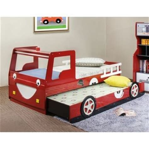 costco trundle bed fire truck beds bed with trundle and truck bed on pinterest