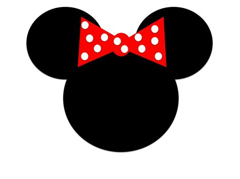 minnie mouse head clipartion com