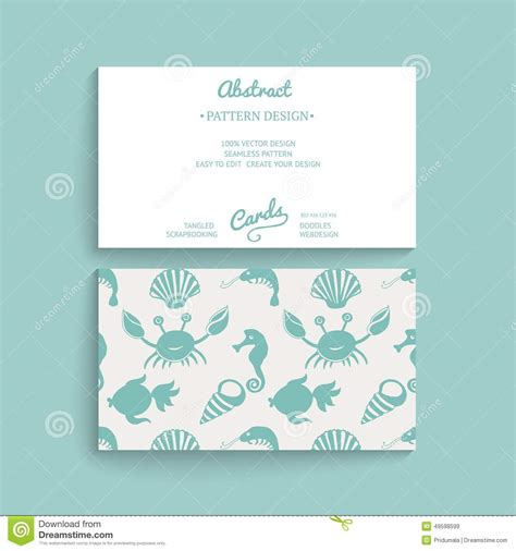 Card Decoration Templates by Vector Card Design Vector Business Card Template With