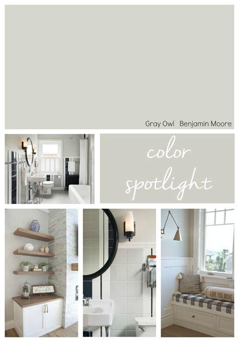 benjamin moore gray owl color spotlight