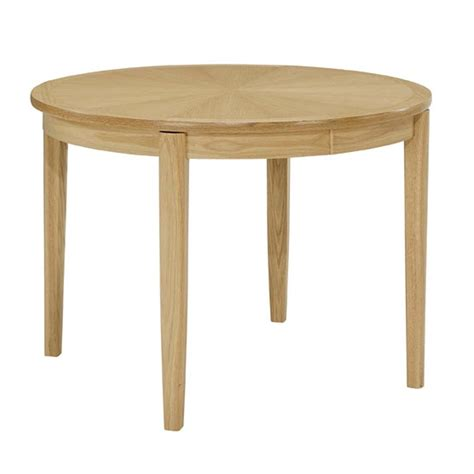 nathan 2135 circular dining table on legs at smiths the rink