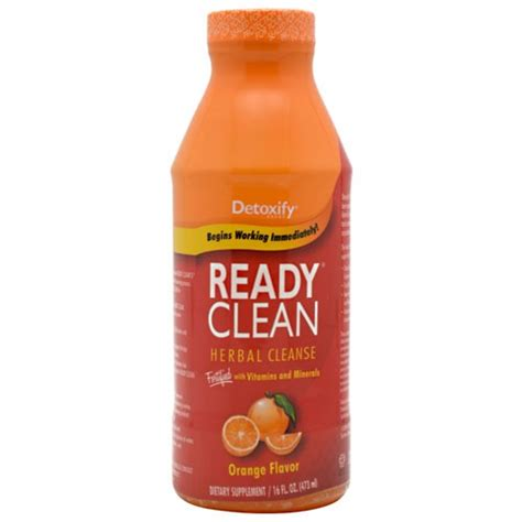 Ready Clean Detox Drink Reviews by Detoxify Ready Clean